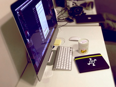 Workplace (New iMac 27 Update)