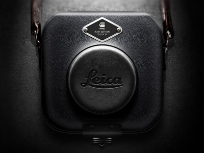 Camera Case For Leica Raw Edition iOS icon ios icon ui app leica camera lens case raw moscow russia leather