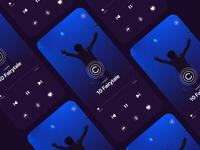 Like Animation like sleep relax buuttons button player farytale ios app ui controls video bounce animation icon ios app