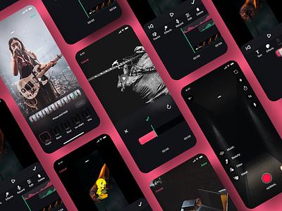 Hyprr editor image music editor design social profile cards icon ux ui app ios