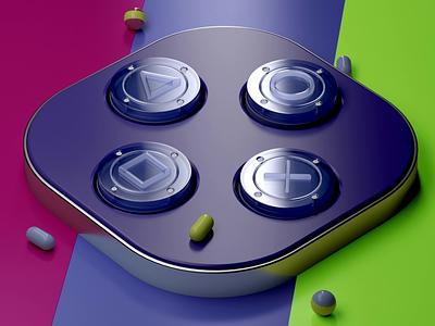 Buttons iOS icon animation 3d cards design logo illustration icon ux ios app ui