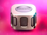 Portable Speaker iOS Icon