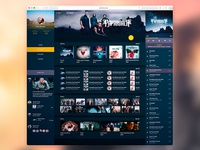 Music Web Artist View