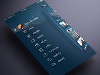 Social App Ui Sidebar (WIP)