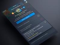 PFI App task screen