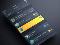 PFI App Feed screen