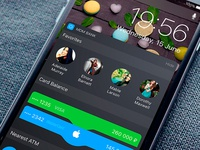 IOS 10 Banking Widget
