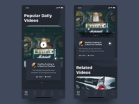 Video App Dark Mode