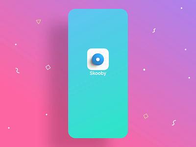 Skooby Splash Screen aftereffects sketch animation splashscreen splash skooby parking logo branding illustration cover finance profile cards icon ux ios ui app
