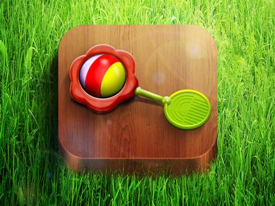 iOS rattle icon