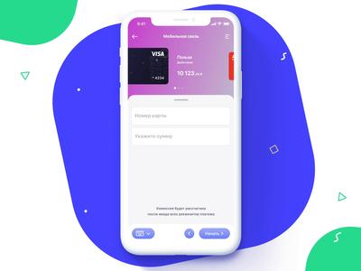 Card Picker fintech finance branding bank money transfer card picker animation vector illustration icon ux ios ui app