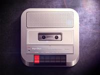 Cassette Recorder iOS icon