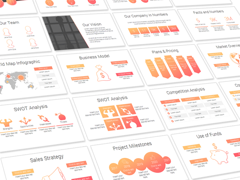 Pitch deck template by evadeboncoeur dribbble pitch deck flashek Image collections