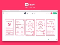 InVision Freehand Wireframe