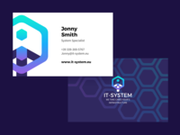 It System Business Card