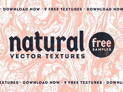 Natural Vector Textures - FREE SAMPLE sale print vintage rough bitmap vector textures creative market texture download freebie free
