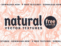 Natural Vector Textures - FREE SAMPLE