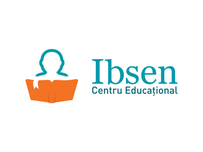 Ibsen Logo Design foreign languages learning