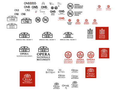 Bucharest Opera Logo process logo