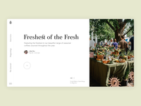 Article slideshow animation concept