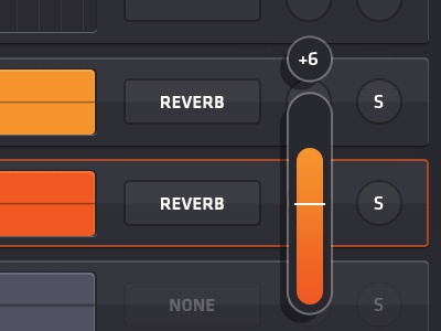 Volume slider mix app music touch museum gmm mississippi