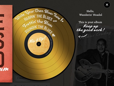 Album Progress Bar mix progress-bar vinyl vintage music national blues museum