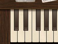 Ol'  Piano Keyboard