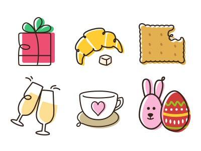 Artizone Icons foodie food