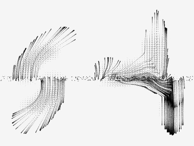 Drawing In Code, Vector Field vector field code systems particle openframeworks