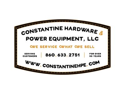 Constantine Hardware Badge 2