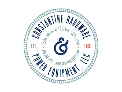 Constantine Hardware Badge 3