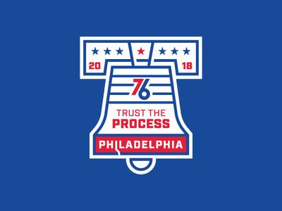 NBA Badge #1 - Philadelphia 76ers