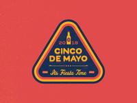 Cinco De Mayo Badge