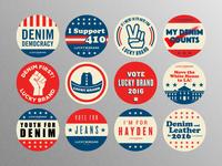 Political Pins All