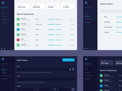 Neblio wallet concept cryptocurrency blockchain crypto wallet