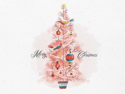 Holiday Sketching - Christmas Tree