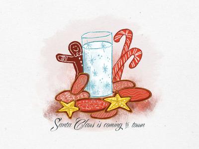 Holiday Sketching - Santa's Cookies