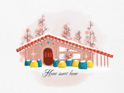 Holiday Sketching - Home Sweet Home