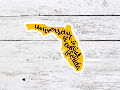 UCF Sticker Concept