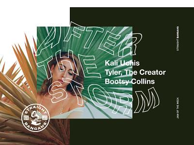 Jam Of The Week | 27 straightbangahs friday type jam of the week illustration letters ui design logo colors typography