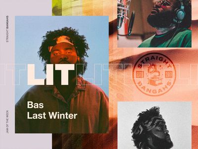 Jam Of The Week   70 straightbangahs jamoftheweek music typography colors ux design ui