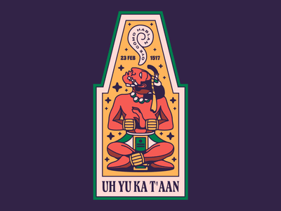 OYE CÓMO HABLAN yucatan mayan wacom illustrator digital vector design illustration