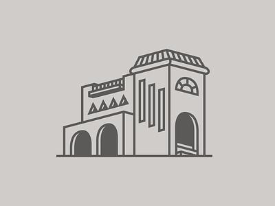 Casa Tapatía castellanos lambley mexico jalisco guadalajara luis barragan architecture logo illustrator digital vector design illustration