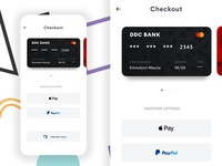 Checkout creditcard card payment mobile app ui