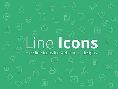 Free Line Icons line icons free icons