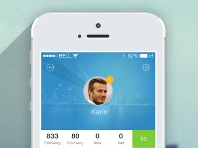 Mobile App - Dashboard
