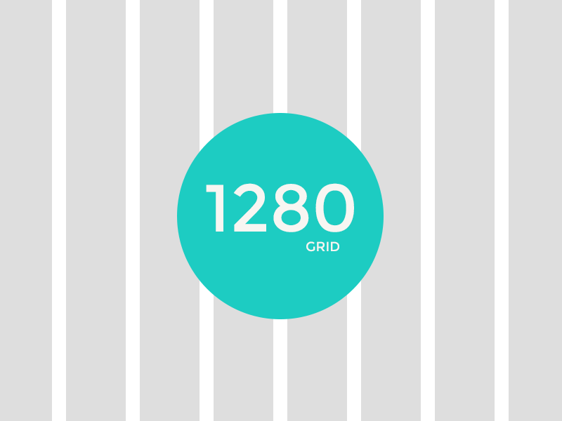 1280 grid psd by arun dribbble