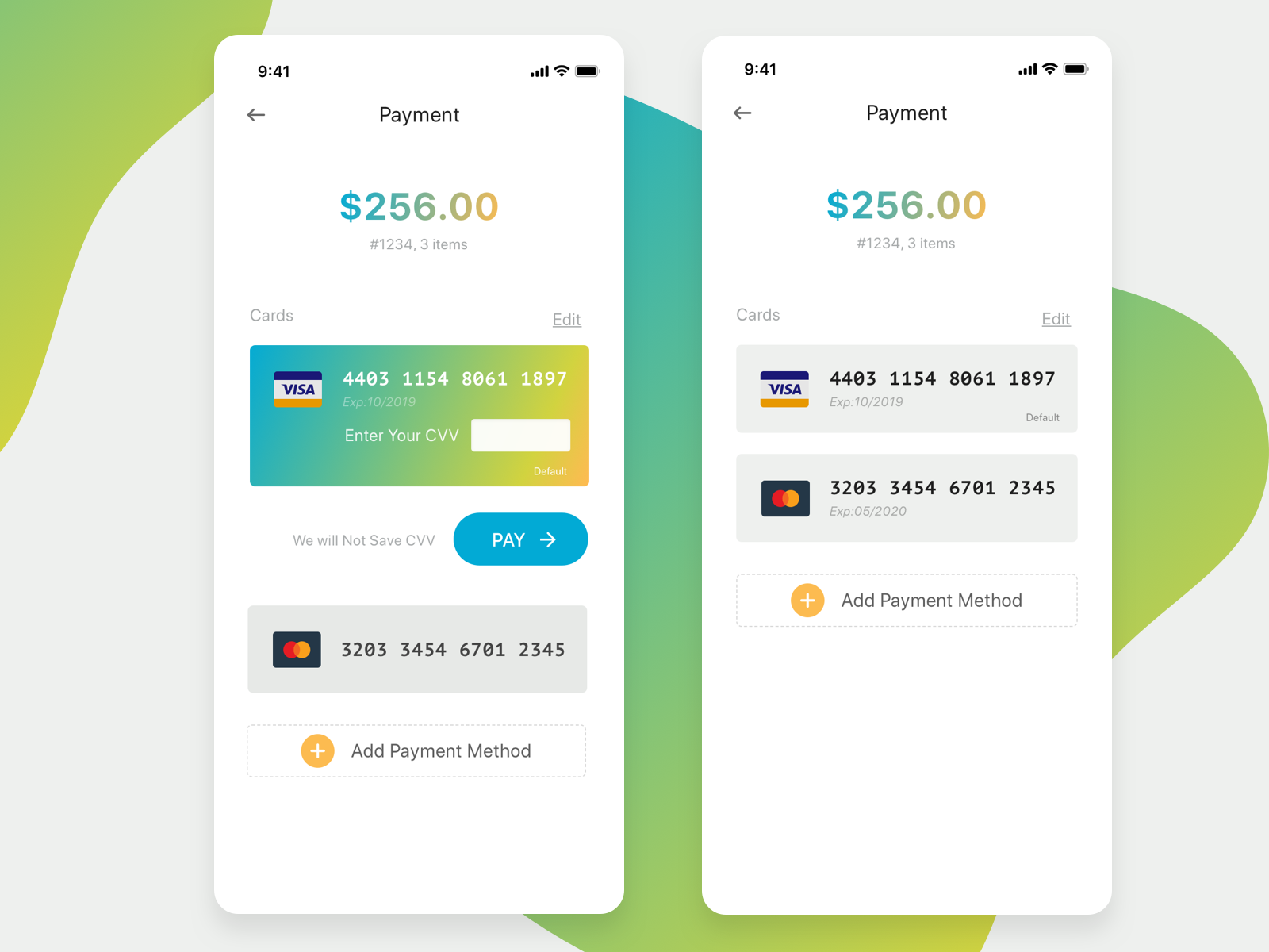 Checkout Screen gradient checkout payment ui dailyui sketch