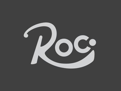 Roc. Round 2 logo branding rochester urban vector
