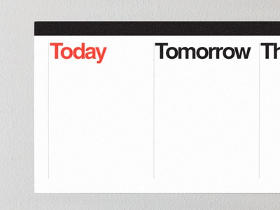 Compiti Stickable Task Calendar stickermule calendar vignelli massimo helvetica tasks minimalist vinyl sticker